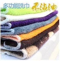 Accessories wood fiber oil wash towel dishclout multifunctional ultra soft oil