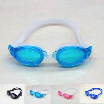 Fish box comfortable model anti-fog swimming goggles glass