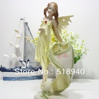 gifts for girls birthday gifts resin doll wings decoration toothbrush holder gift home decoration accessories