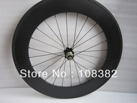 rear wheel only for 88mm tubular carbon bike wheel with 24 holes in stock