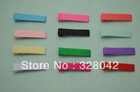Trail order 1.77''(4.5cm) mix colors baby girl hair clips grosgrain ribbon clips regular christmas hairband 60pcs/lot