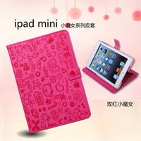 For apple for ipad mini holsteins mini leather protective case mini shell