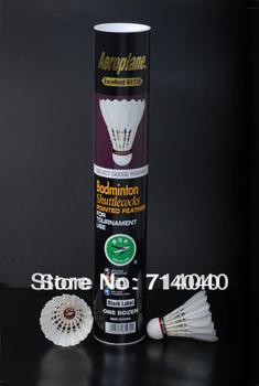 High quality Aeroplane EG1130 badminton shuttlecock,100% original, 6 dozen/lot, free shipping