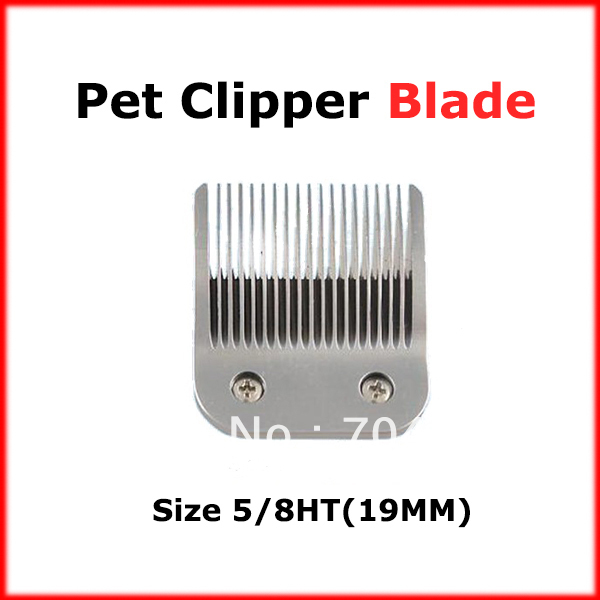 Pet Clipper blade pet trimmer blade 5/8HT Compatible with LAUBE, Oster, Andis, Conair, Wahl and Thrive detachable clippers(China (Mainland))