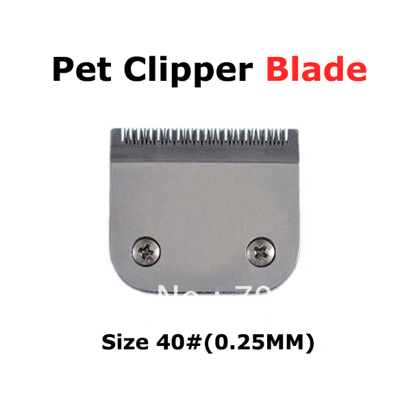 Pet Trimmer Clipper Standard blade 40# Compatible with LAUBE, Oster, Andis, Conair, Wahl and Thrive detachable clippers(China (Mainland))