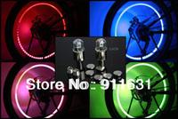 Hot Selling 4pcs/lot  3.8 * 1.5 cm Blue/Red/Green Color Transform Light Car LED Wheel Lights
