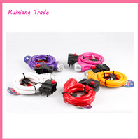 Free shipping Color Universal lock TY561E bike lock bicycle cable lock wire lock