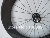 only rear 88mm clincher carbon track wheel