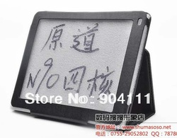 Original Black Protective Stand Leather Case Cover For Window Vido N90 Quad Core 9.7 inch Tablet PC Free shipping(China (Mainland))