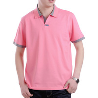 2013 men's clothing male fashionable casual thin t-shirt men's solid color cotton short-sleeve T-shirt