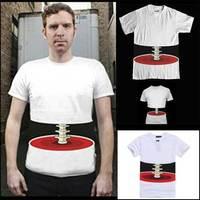 2013 Hot Sale Korean Version Trend Funny Three-dimensional  Transparent Body Skeleton Shirt Hip Hop T Shirt Brand Free Shipping
