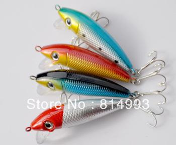 Free shippng 4PCS 6 cm4. 5 g mino Minnow floating way/false bait bait to lure the hard bait bait fishing gear