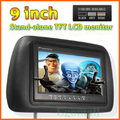 9 inch stand-alone TFT LCD monitor headrest TFT display free shipping S683