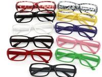 Free shipping 20pcs/lot fashion men's/women's no fan glasses plastic sunglasses fashion sunglasses for lady.