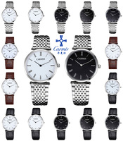 Card ultra-thin watches mens watch ladies watch lovers table