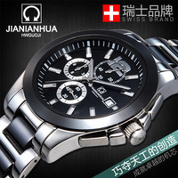 Carnival mechanical mens watch fully-automatic waterproof fashion watches mechanical cutout back through the male watch