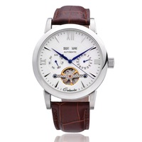 Carolina tourbillon fully-automatic mechanical watch vintage male watch strap mens watch ca1048m