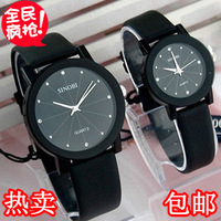 Strap mens watch male watch female fashion lovers watch vintage table fashion table