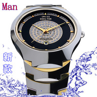 2012 race electrice tungsten steel watches gold tungsten steel mens watch fashion mantianxing male table