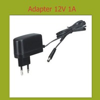 converter adapter  AC 100-240VAC  DC 12V 1A power supply EU Plug