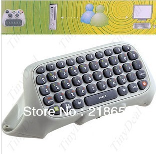 free shipping New Text Windows Live Messenger Keyboard Chat Pad for XBOX 360 Controller(China (Mainland))