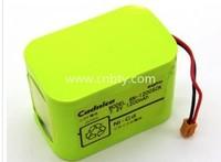 Battery pack 6 n - 1200 SCK dedicated battery 7.2 V 1.2Ah Germany swabs injection pump