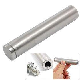 12 Pcs 19 x 100mm Advertisement Stainless Steel Bolt Nail Glass Standoff Pin Free shipping(China (Mainland))