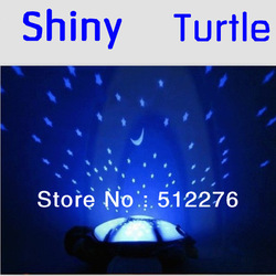 Free shipping Twilight Turtle Night Light Stars projector Constellation Lamp toy With 3 light,3 colors Best Gift(China (Mainland))