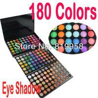 Free Shipping!! 3 layer eyeshadow palette 180 Colors warm eye shadow 02#