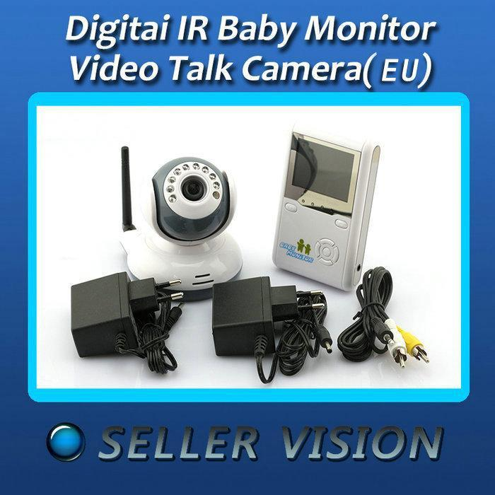 "NEW Digital IR Baby Monitor Video Talk Camera Wireless 2.4""(China (Mainland))"