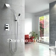 Contemporary Shower Set Wall Mounted Waterfall Bathtub Faucet Brass Mixer Waterfall Faucet Bath Tap C263(China (Mainland))