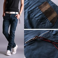 Free shipping Autumn new arrival 2012 male casual pants Men men's clothing casual trousers skinny pants male trousers