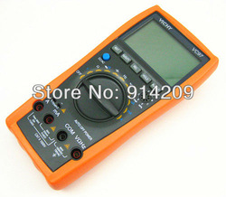 Free Shipping ! New VC97+ 3999 Auto Range Multimeter AC DC R C F Temp 3 3/4 Digital Multimeter Analog Bar(China (Mainland))