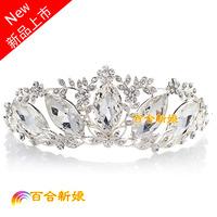 Crystal the bride hair accessory marriage accessories piece set wedding accessories big rhinestone
