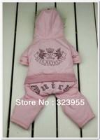2013 Hot Sale Couture Dog Clothes Juice  Pet Clothes Jacket Branded Jumpsuit Winter Pet Clothes