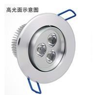 Wholesale 20PCS 3W 6W 9W LED Downlights high power Cold white/warm white AC85-265V Free shipping/DHL