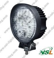 EMC 27W LED work light Square roundcar ATV SUV off road tractor headlight led working lights