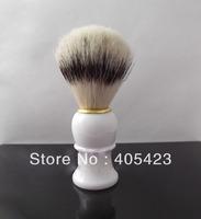 Best selling!! Black Badger Hair Shaving Brush for Man Beard Brush Shaving Tool 2pcs bristle & plastic handle