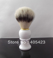 Best selling!! Black Badger Hair Shaving Brush for Man Beard Brush Shaving Tool 2pcs bristle & plastic handle