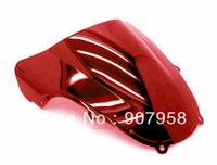 Hot ! Red Motorcycle Windshield Windscreen Fit For Suzuki GSXR 1000 00 01 2002 K1 GSXR 600 750 K2