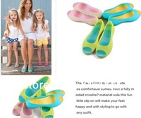 2013-fashion Female models in summer fish head jelly shoes crystal flat sandals ladies fitness wear Fanshu