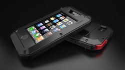 Original LUNATIK Taktik Protecting Crust Aerial Anodized Aluminum Metal Case Cover for iphone 5 5G Free Shipping(China (Mainland))