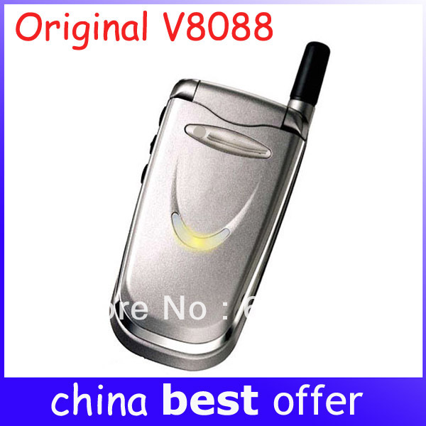 V8088 Original Cell Phones V8088 Classic Old Model dualband GSM Unlocked Mobile Phone 1 year warranty Free Shipping(China (Mainland))
