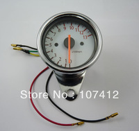 Free Shipping ,(YB001) New Scooter Analog Tachometer Gauge 13000RPM Fit For Universal Motorcycle