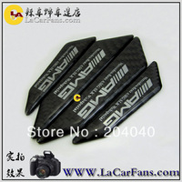 Free shipping,car anti-collision strip.bumper protector,carbon fiber door anti-rub  sticker for BMW  AMG vw marzda benz