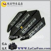 Free shipping,car anti-collision strip.bumper protector,carbon fiber door anti-rub  sticker for BMW  AMG vw marzda benz
