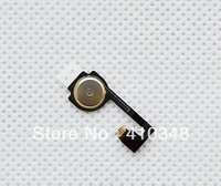 1000pcs/lot home button flex cable for iPhone 4 4G free shipping by DHL EMS