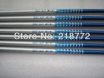 high quality japan shaft Tour AD BB-6 blue  colors assembling to golf driver 45inch 10/pcs lot golf shaft free ship