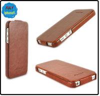 For iphone 5 5G luxury flip leather case slim,ultra thin leather case for iphone5, 10pcs/lot+Free Shipping