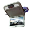 "12""Flip down car DVD player,Roof Mount DVD Player,flip down monitor+Wireless Game+IR+USB+SD+FM+Free shipping for retail/pcs"